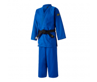 Кимоно Mizuno для дзюдо (взрослое) YUSHO JAPAN IJF Blue (Плотность - 750) - 6A2027